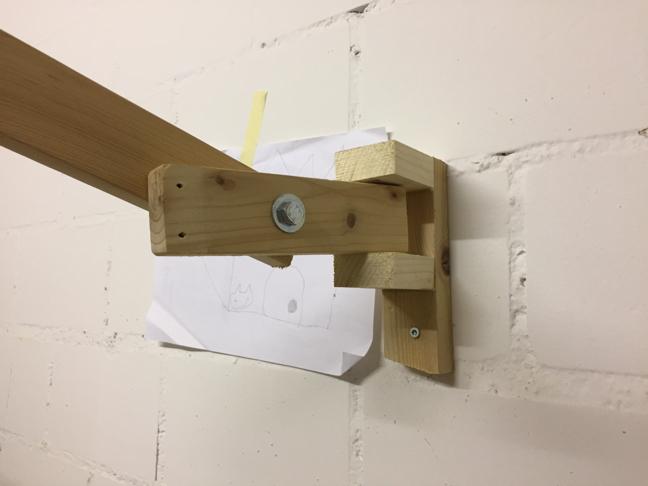 Wall fastening